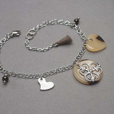 Alloys Collection animal heart - bransoletka