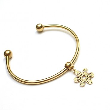 Alloys Collection - flower gold