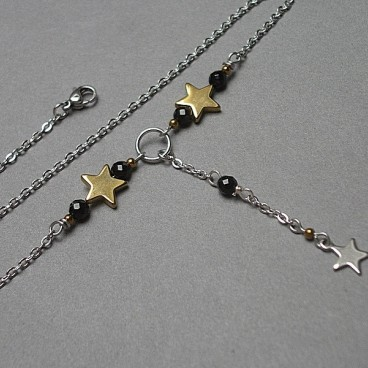 Alloys Collection - Line / star /choker vol. 5 naszyjnik