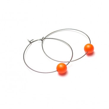 Alloys Collection /one pearl/ neon orange