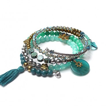 Alloys Collection Wrapped /sea green/ vol. 3 bransoletka