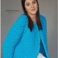 Blue Chunky sweter - 3