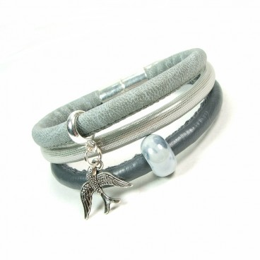 Bransoletka Lea  Chic Gris