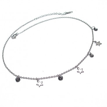 Choker - Alloys Collection - Line star vol. 10 naszyjnik