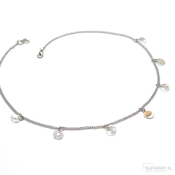 Choker - Alloys Collection -rosette naszyjnik