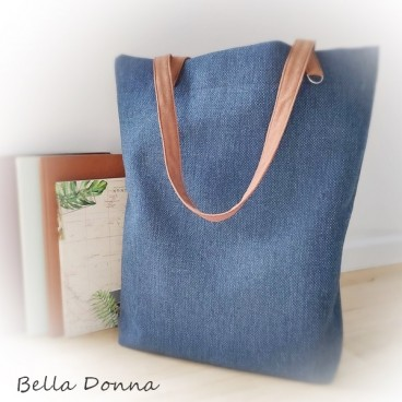 Duża torba -  Navy Blue Casual