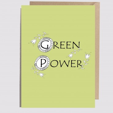 Kartka Green Power III