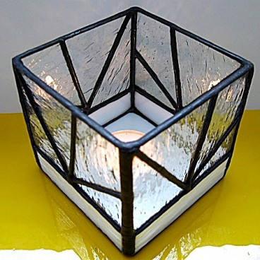 Lampion Geometria Tiffany
