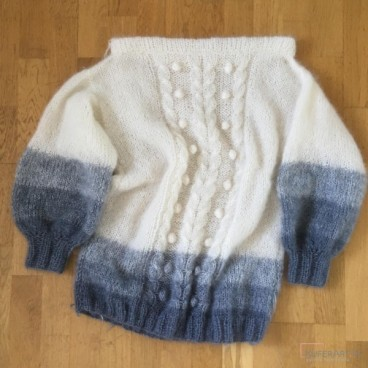 Summer Clouds Sweater, sweter ombre