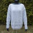 Sweter moherowy oversize