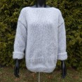 Sweter moherowy oversize - 2